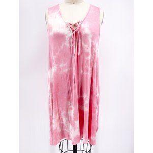 My Beloved | Pink Tie Dye Dress~L